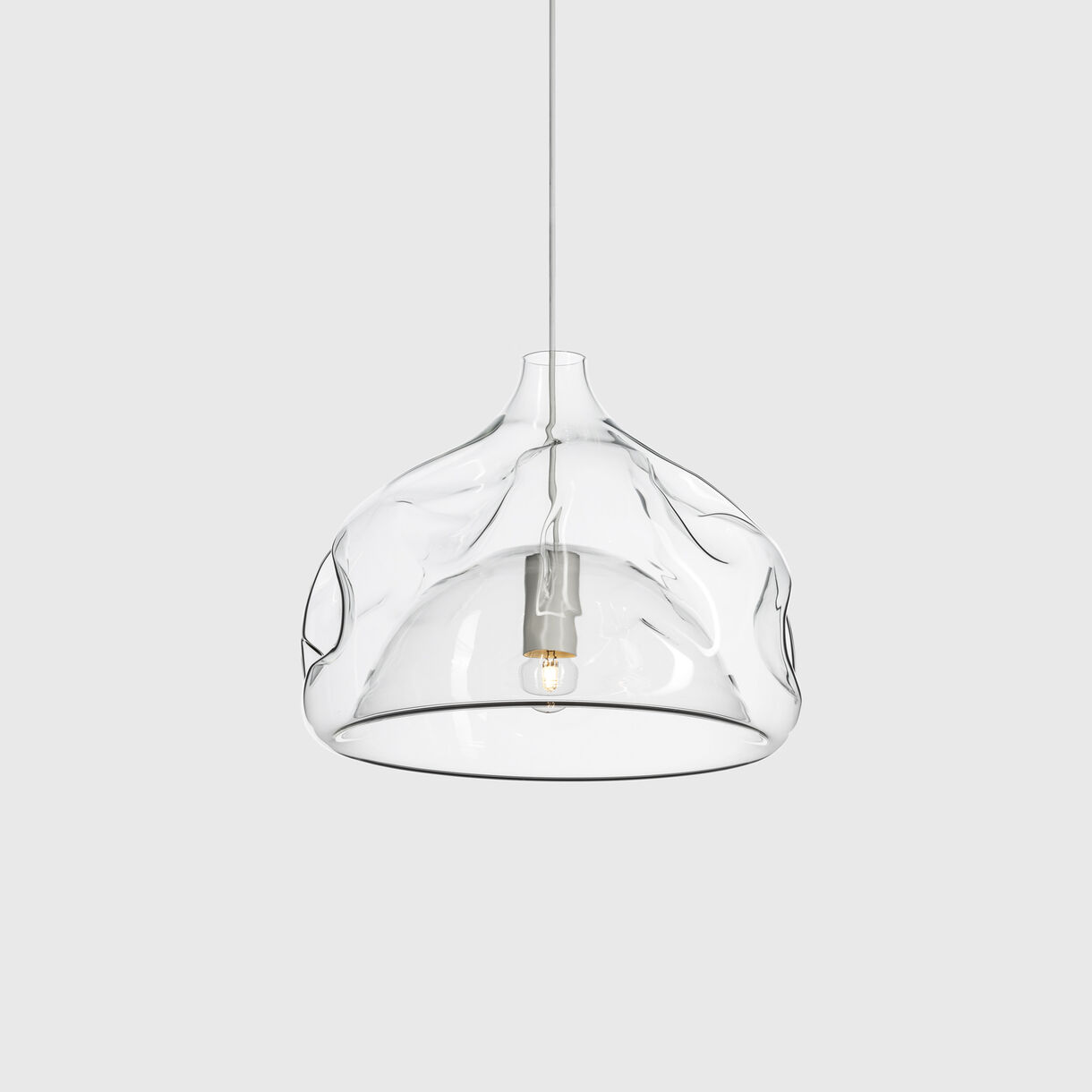 Inhale Pendant Lamp, Clear