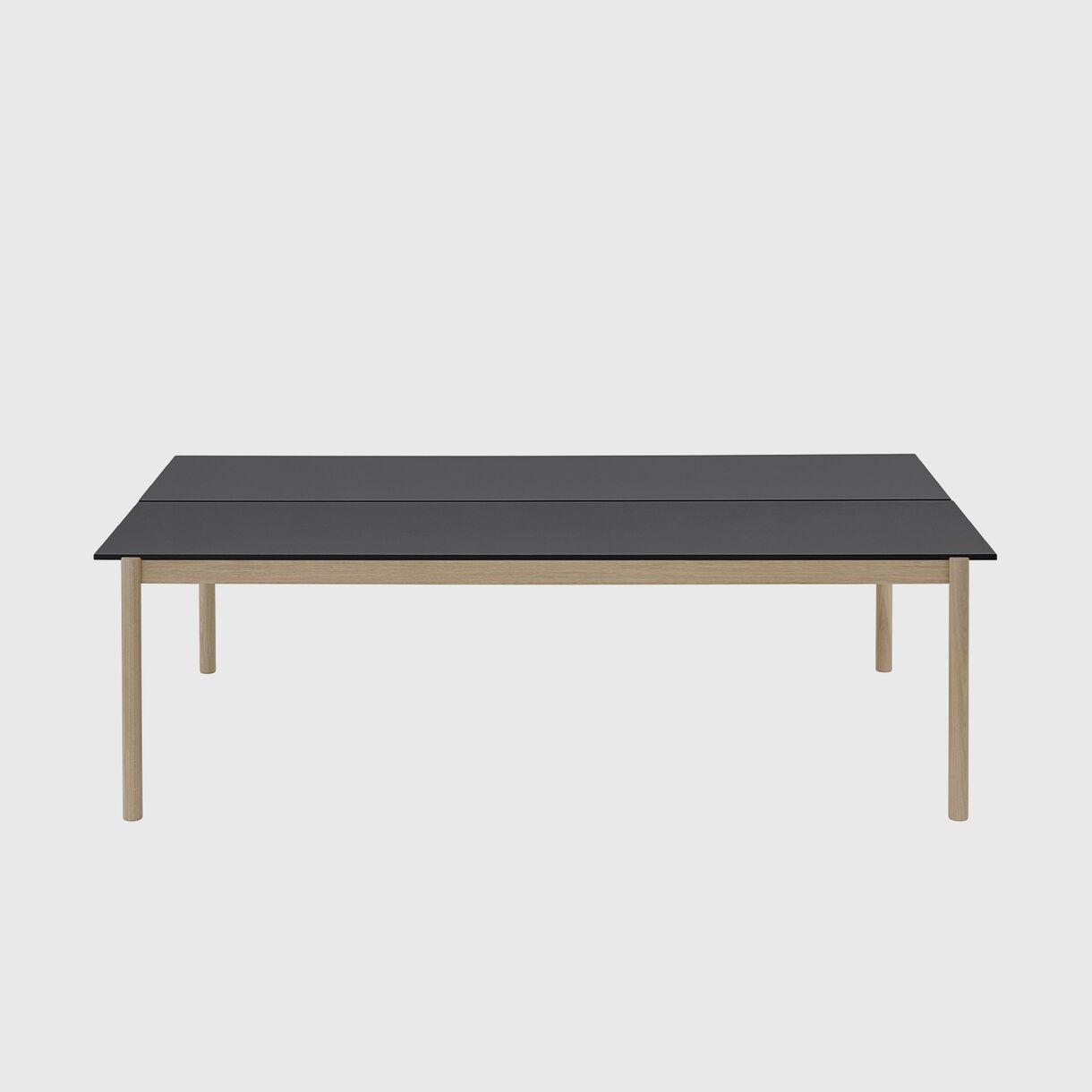 Linear System Table, Black & Oak