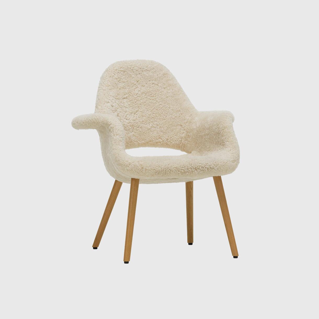 Organic Chair, Sheepskin