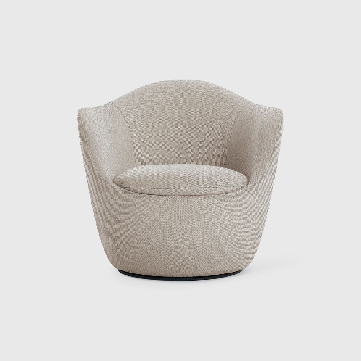 Lina Swivel Chair, Shell