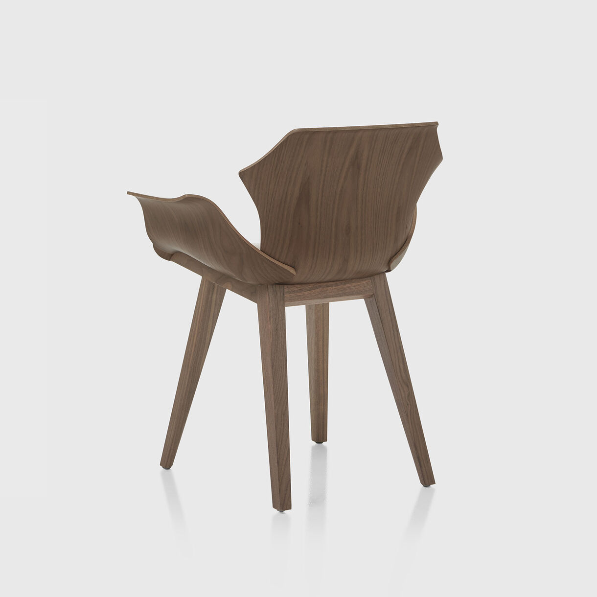 Petal Armchair, Walnut