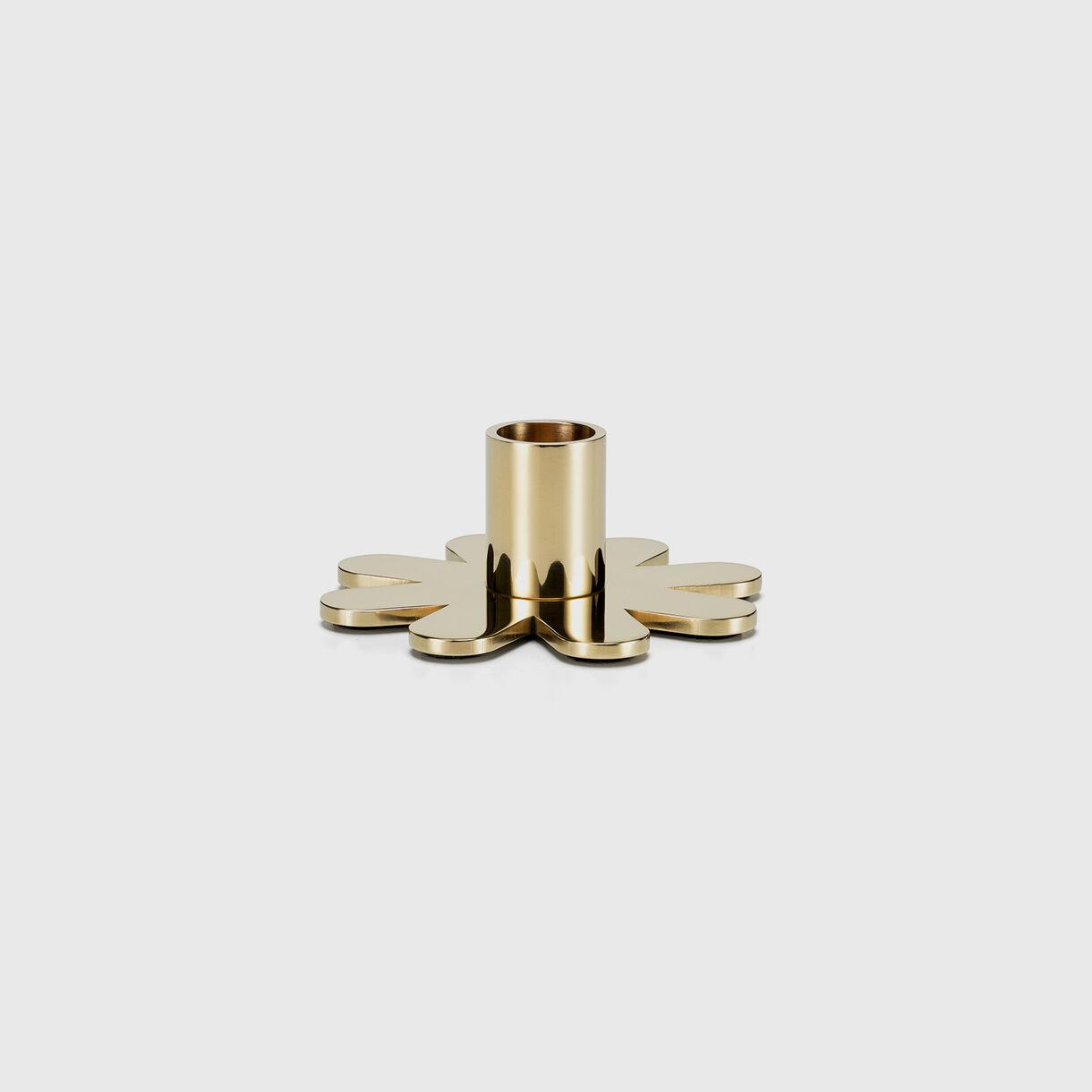 Girard Brass Candle Holder, Petal