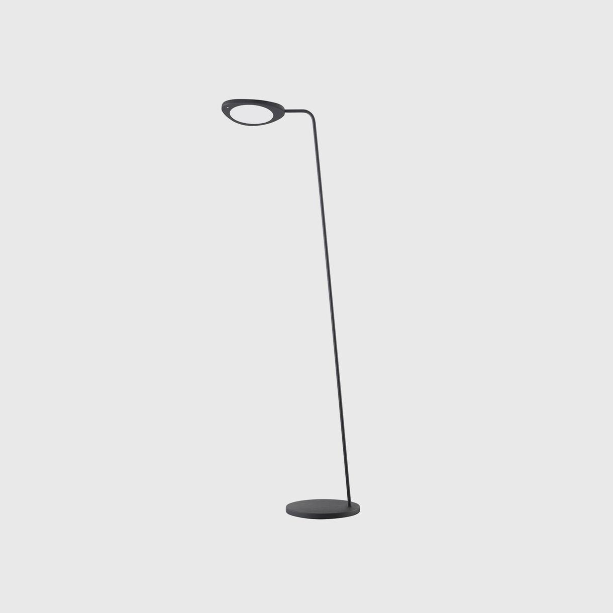 Leaf Floor Lamp, Black