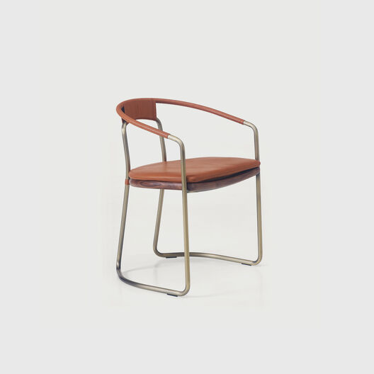 Geometric Side Chair
