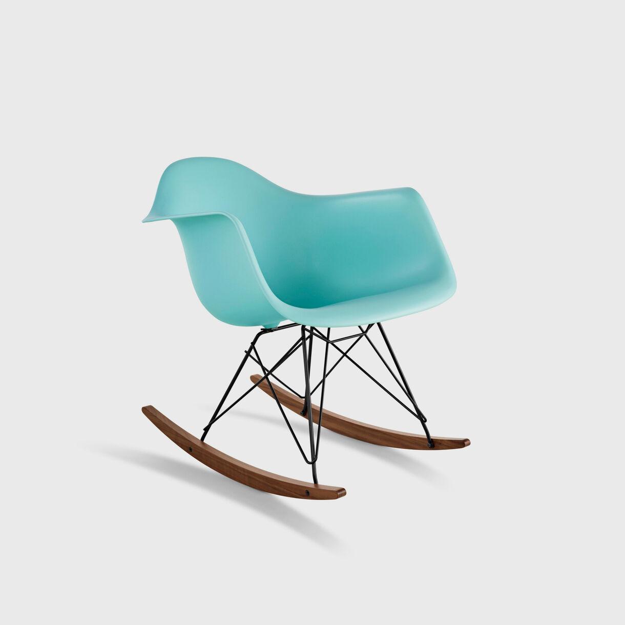 Eames Moulded Plastic Armchair, Rocker Base