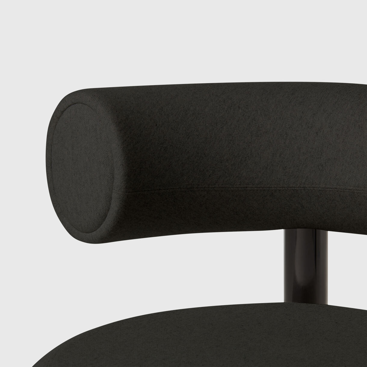 Fat Lounge Chair, Black