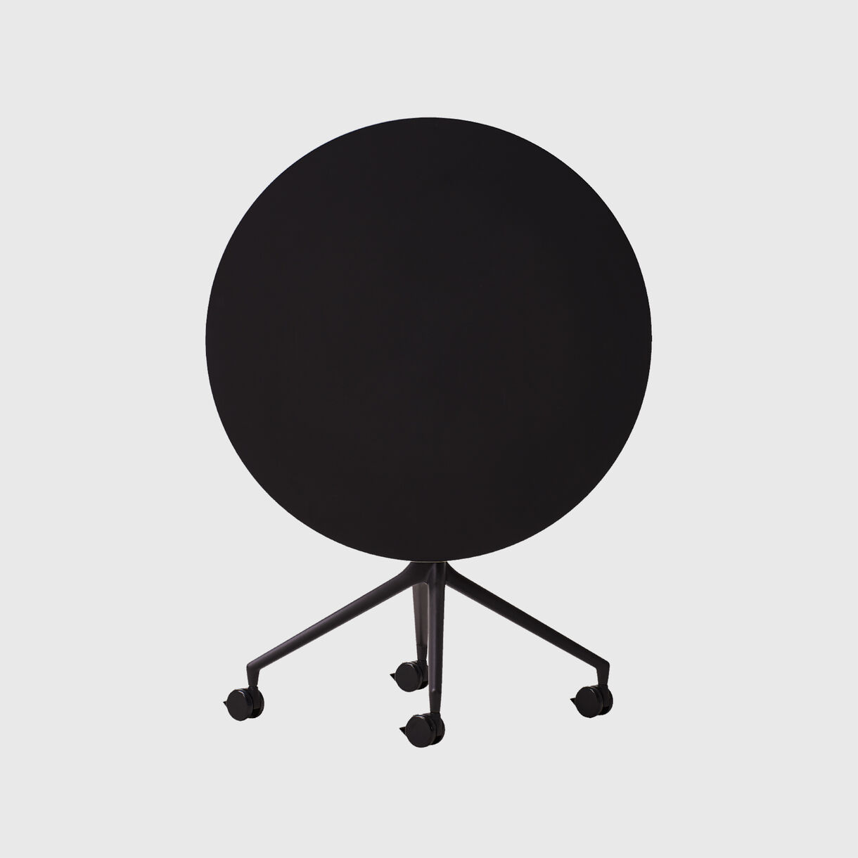 AS400 Table, Round, Black