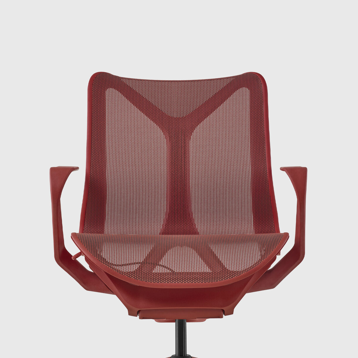 Cosm Low Back Work Chair, Fixed Arms, Canyon