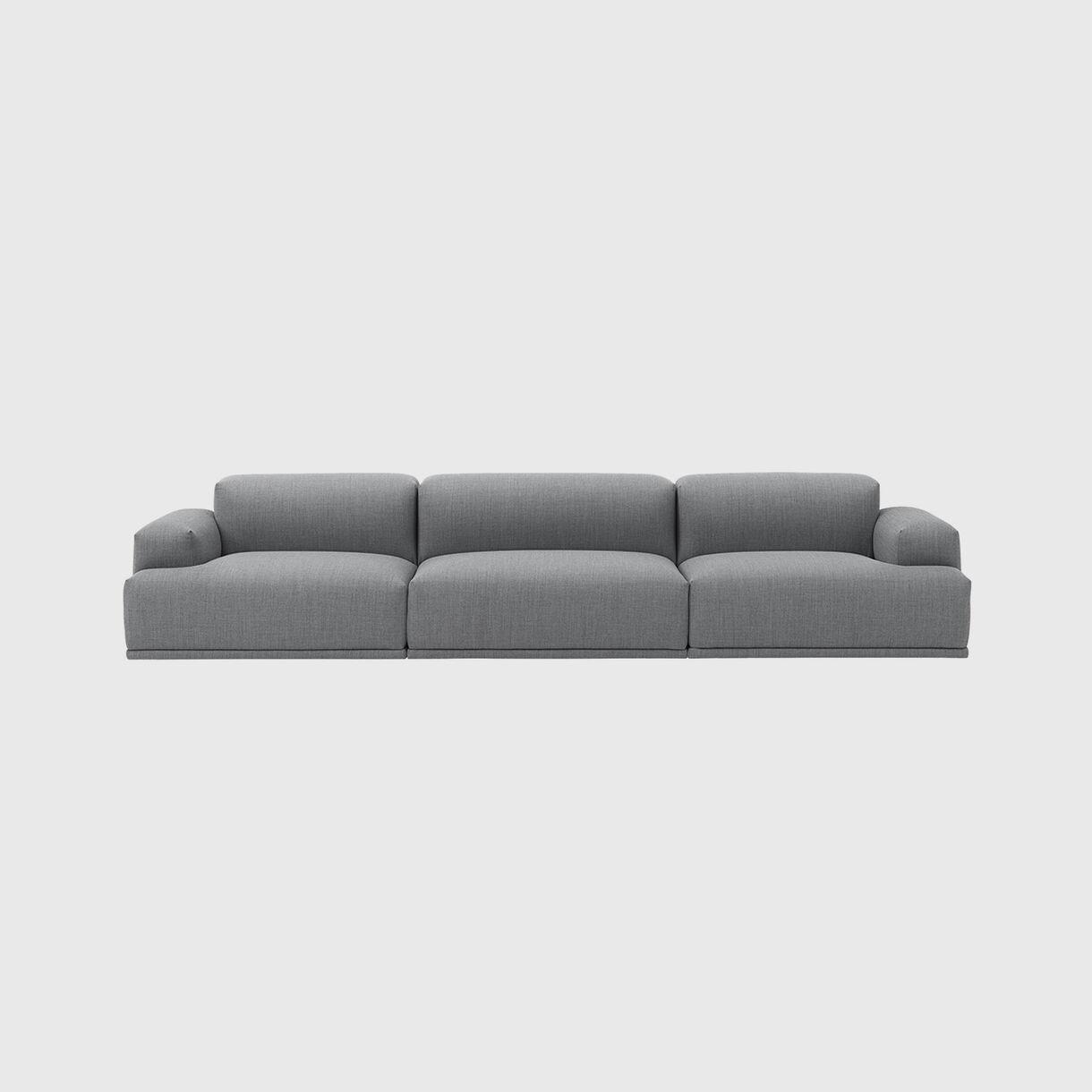 Connect Modular Sofa, 3 Seater, Fiord 151