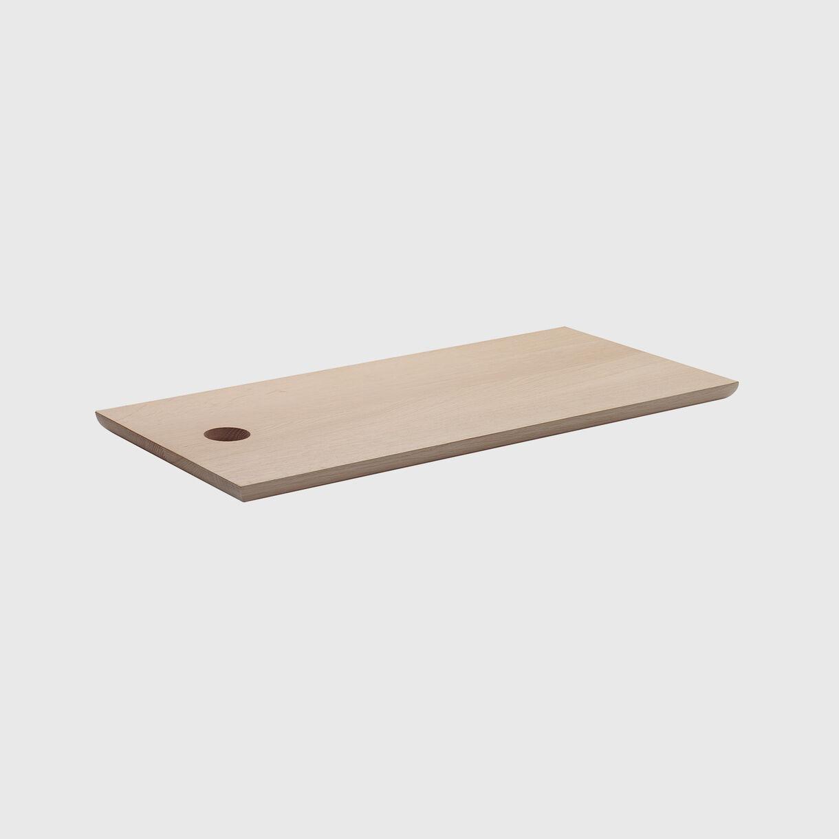 Cut Cutting Board, Oak, Long