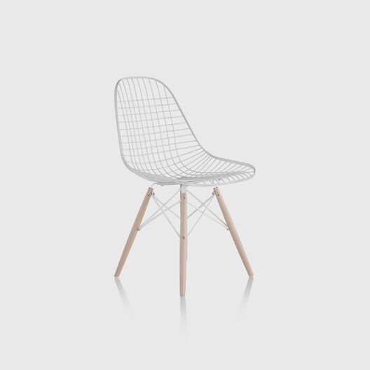 Eames® Wire Chair, Dowel Base