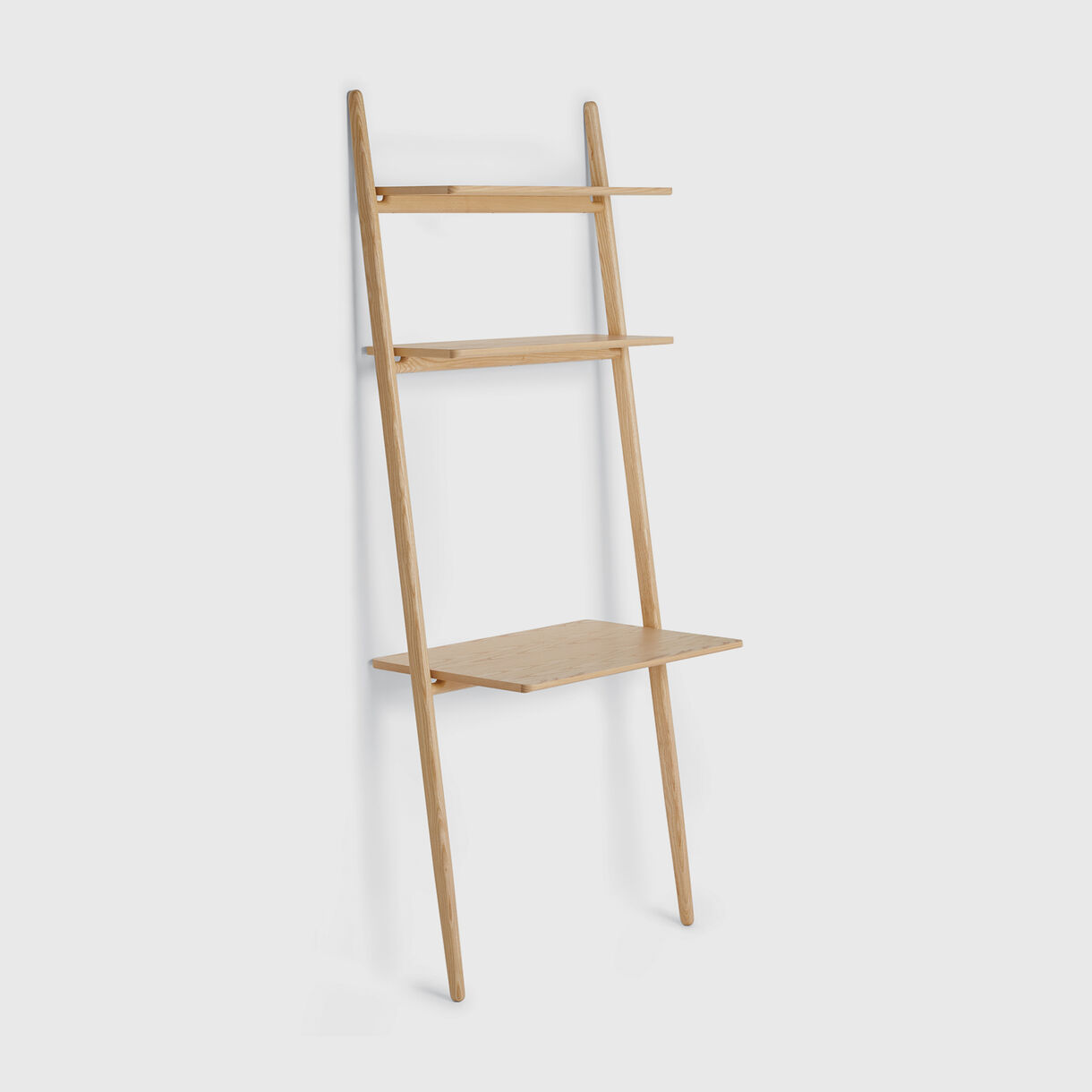 Folk Ladder Desk, Natural Ash