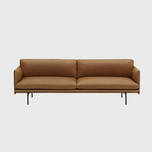 Outline Sofa, 3 Seater