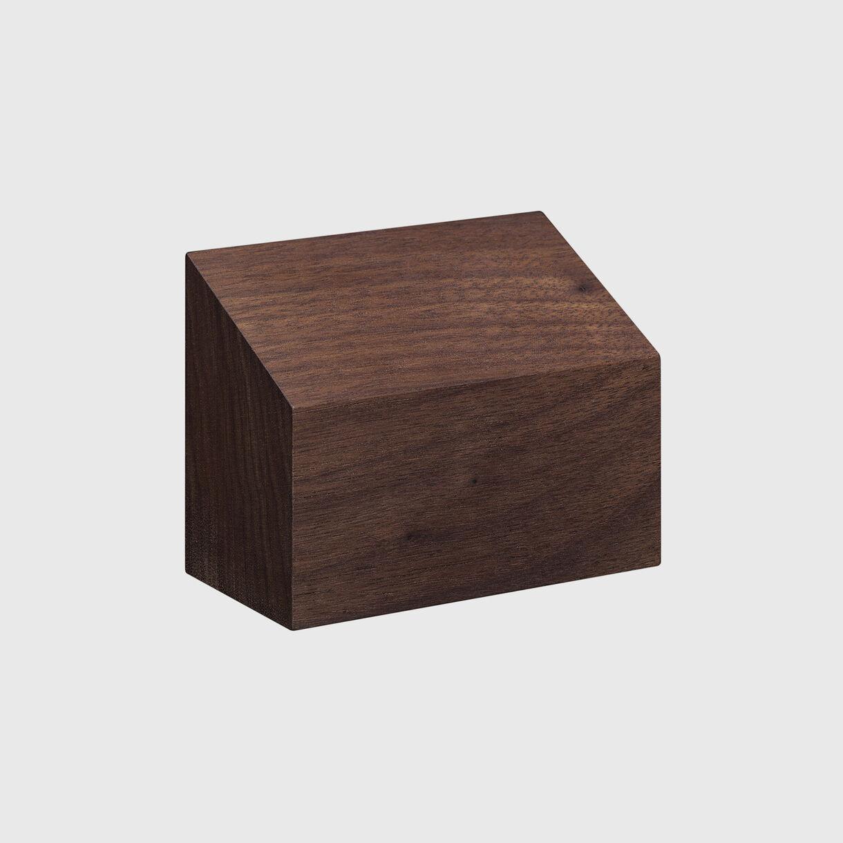 Haus Paper Weight, Shed, European Walnut