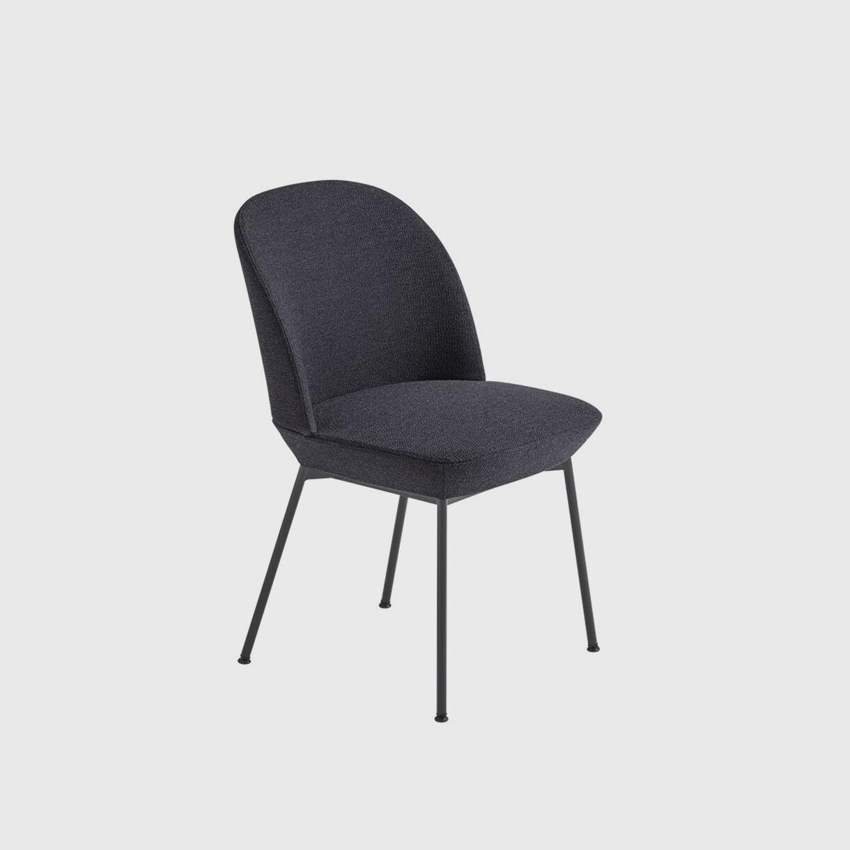Oslo Side Chair - Ocean 601 & Black