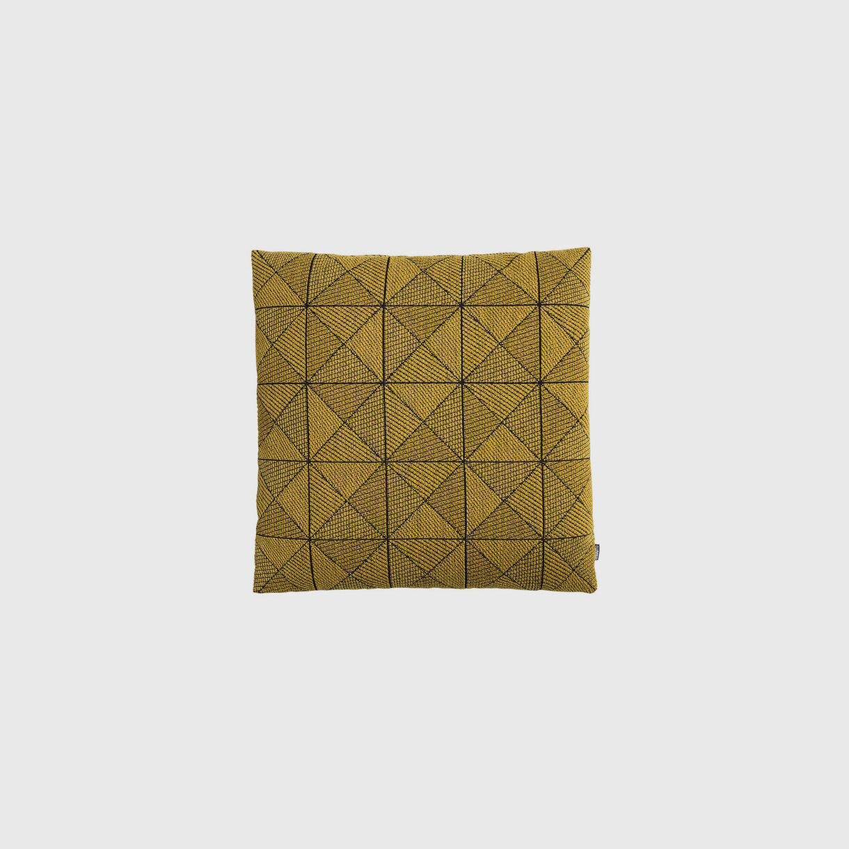Tile Cushion, Yellow