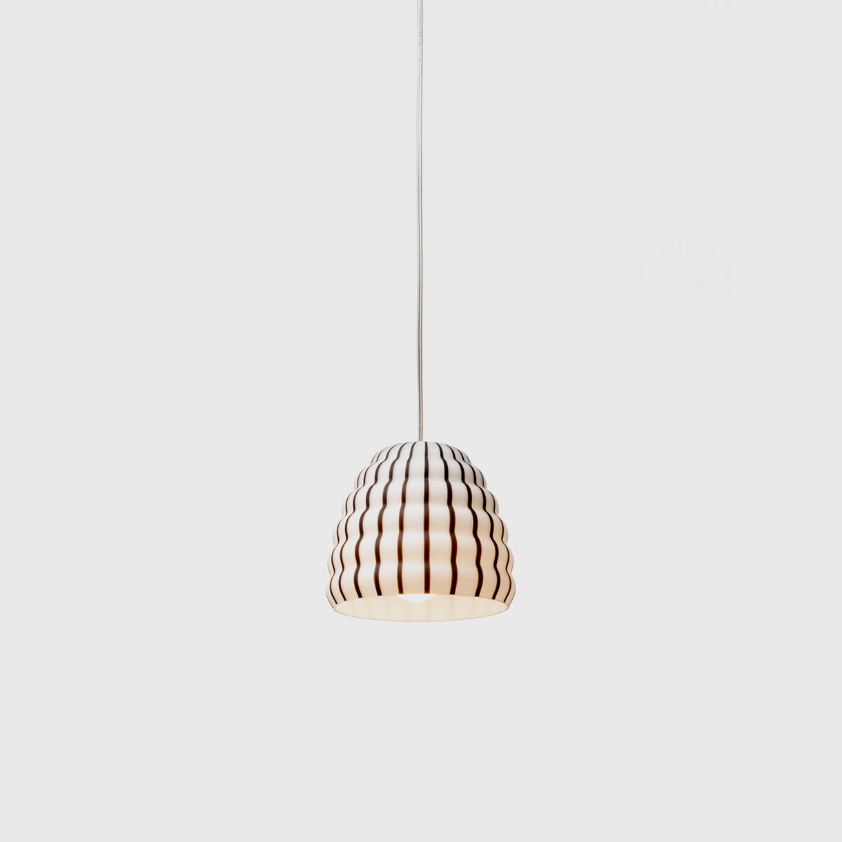 Filigrana Beehive Pendant Lamp, Black