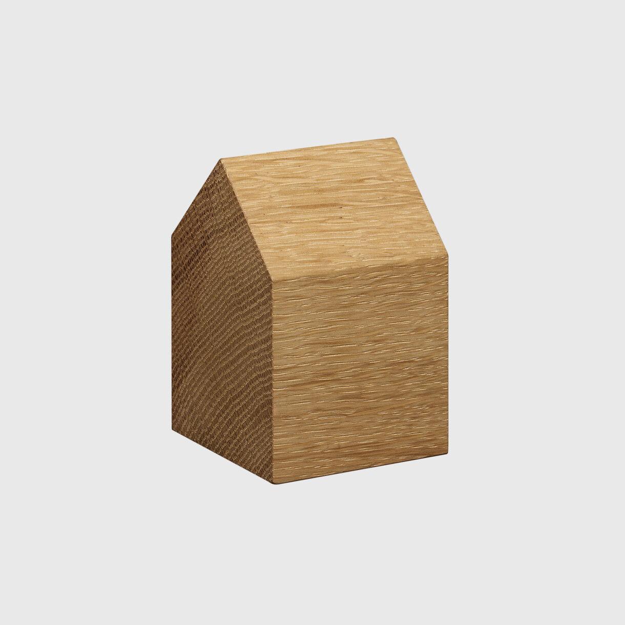 Haus Paper Weight, Saddle Small, European Oak