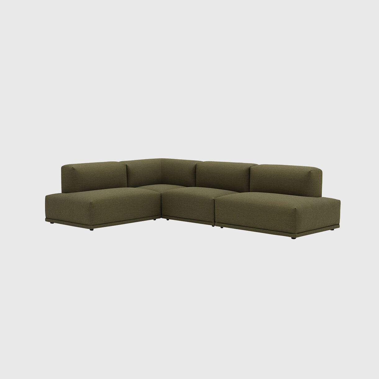Connect Modular Corner Sofa, Canvas 964