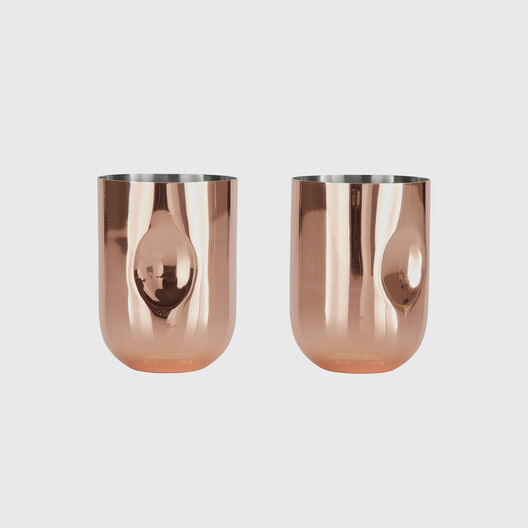 Plum Moscow Mules, Set of 2