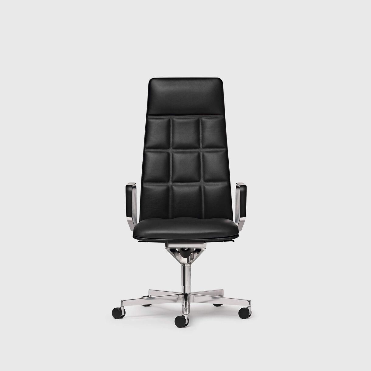 Leadchair Executive, High Back, Black