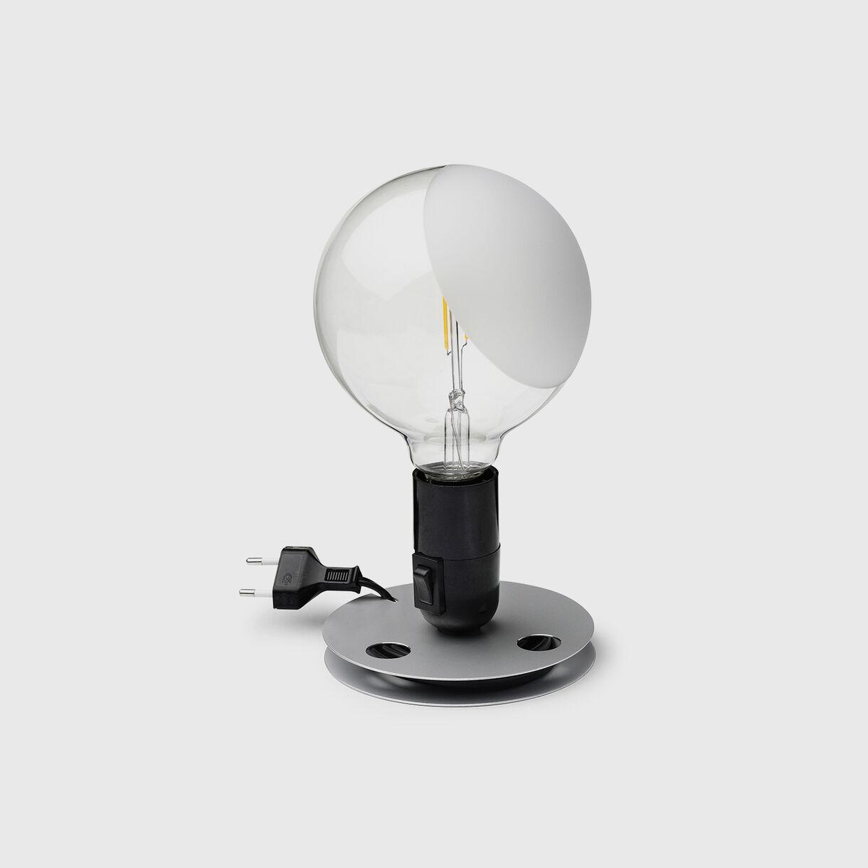Lampadina Table Lamp, Black