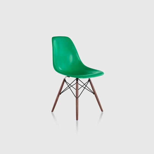 Eames® Moulded Fibreglass Side Chair, Dowel Base