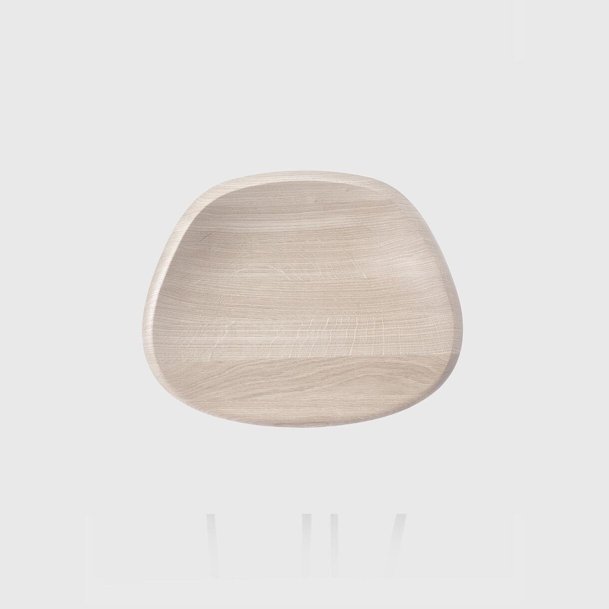 Pebble Bar Stool, Raw Oak & Bronze