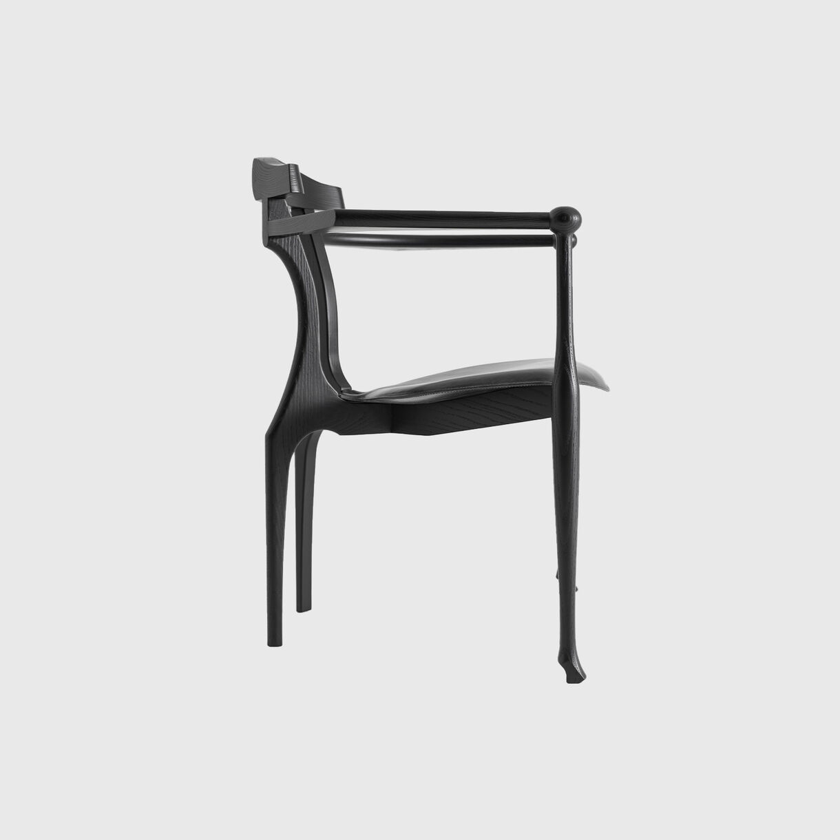 Gaulino Easy ChairGaulino Easy Chair, Black Lacquer