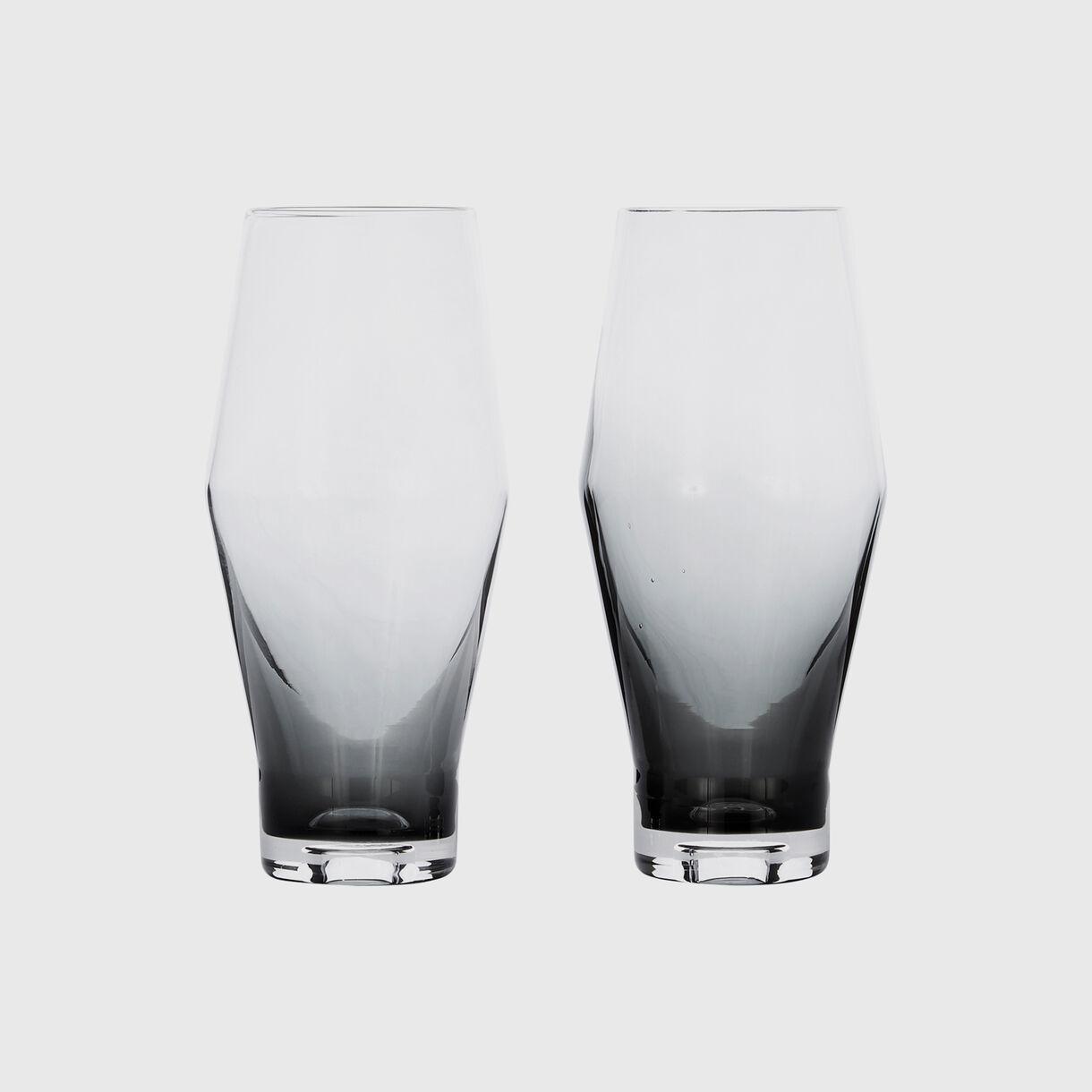 Tank Beer Glasses, Black