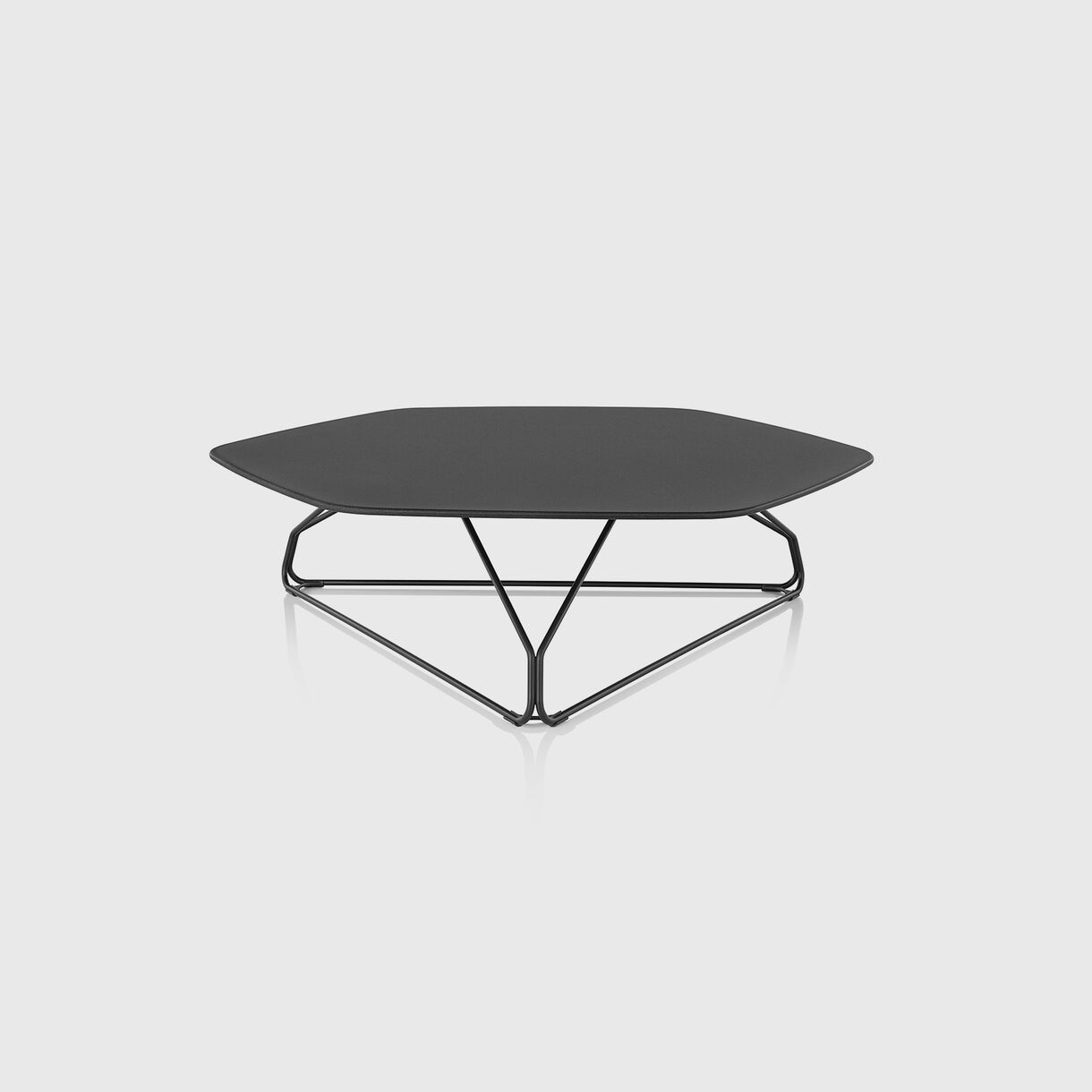 Polygon Wire Table, Low
