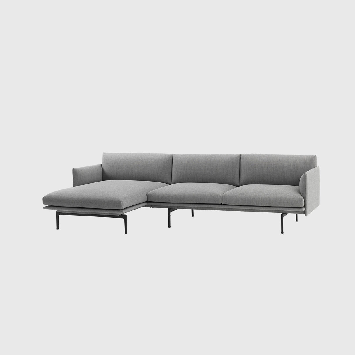 Outline Chaise Sofa, Left, Vancouver 14