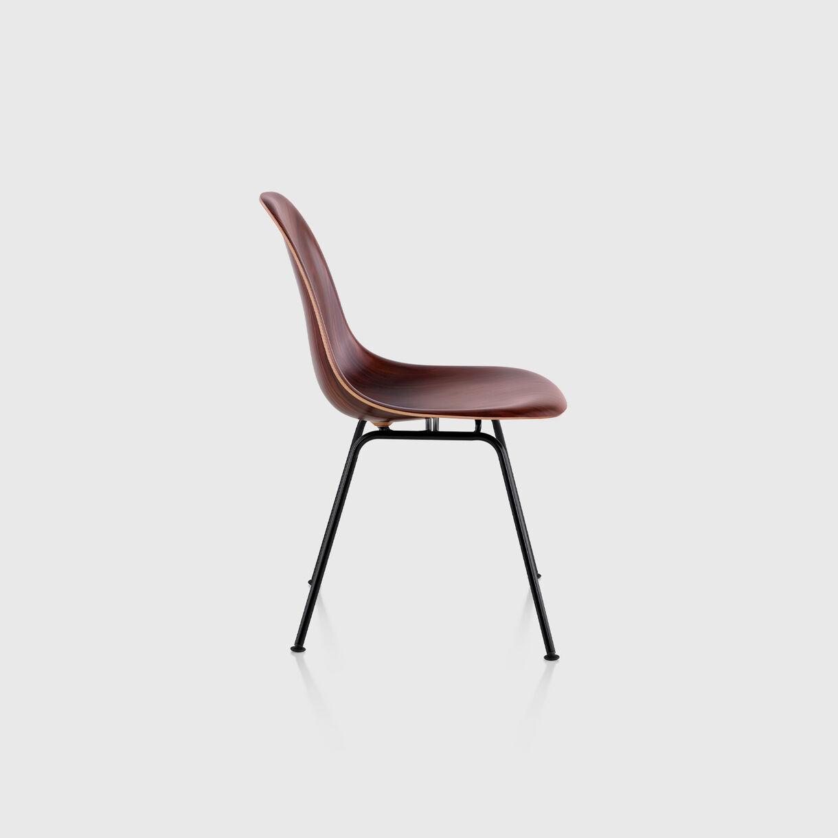 Eames Moulded Wood Side Chair, 4-Leg Base