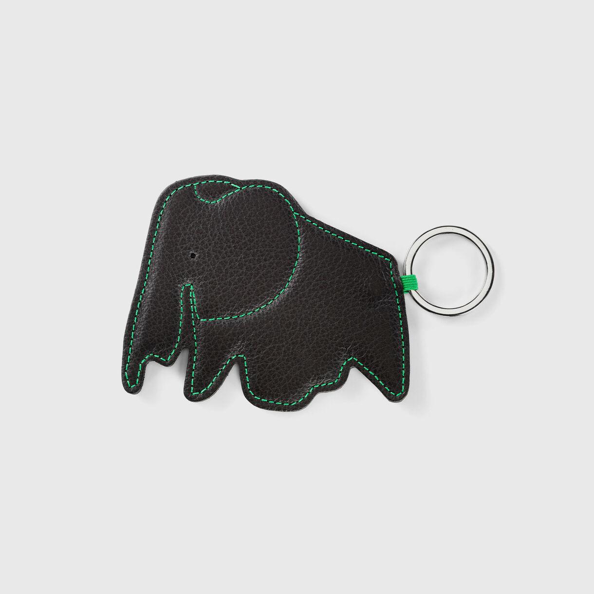 Elephant Key Ring, Chocolate