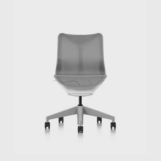 Cosm Chair, Mineral, Low Back, No Arms