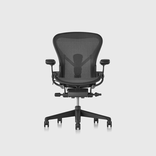 Aeron Chair Remastered, Graphite, Size B - In Stock