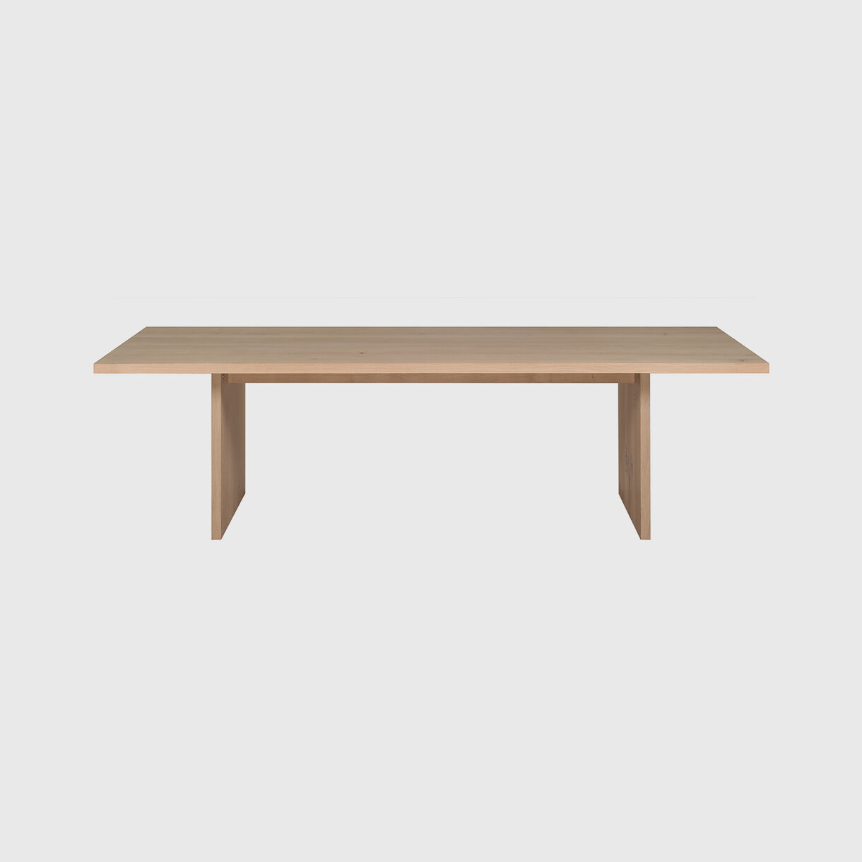Ashida Table, European Oak White Pigment