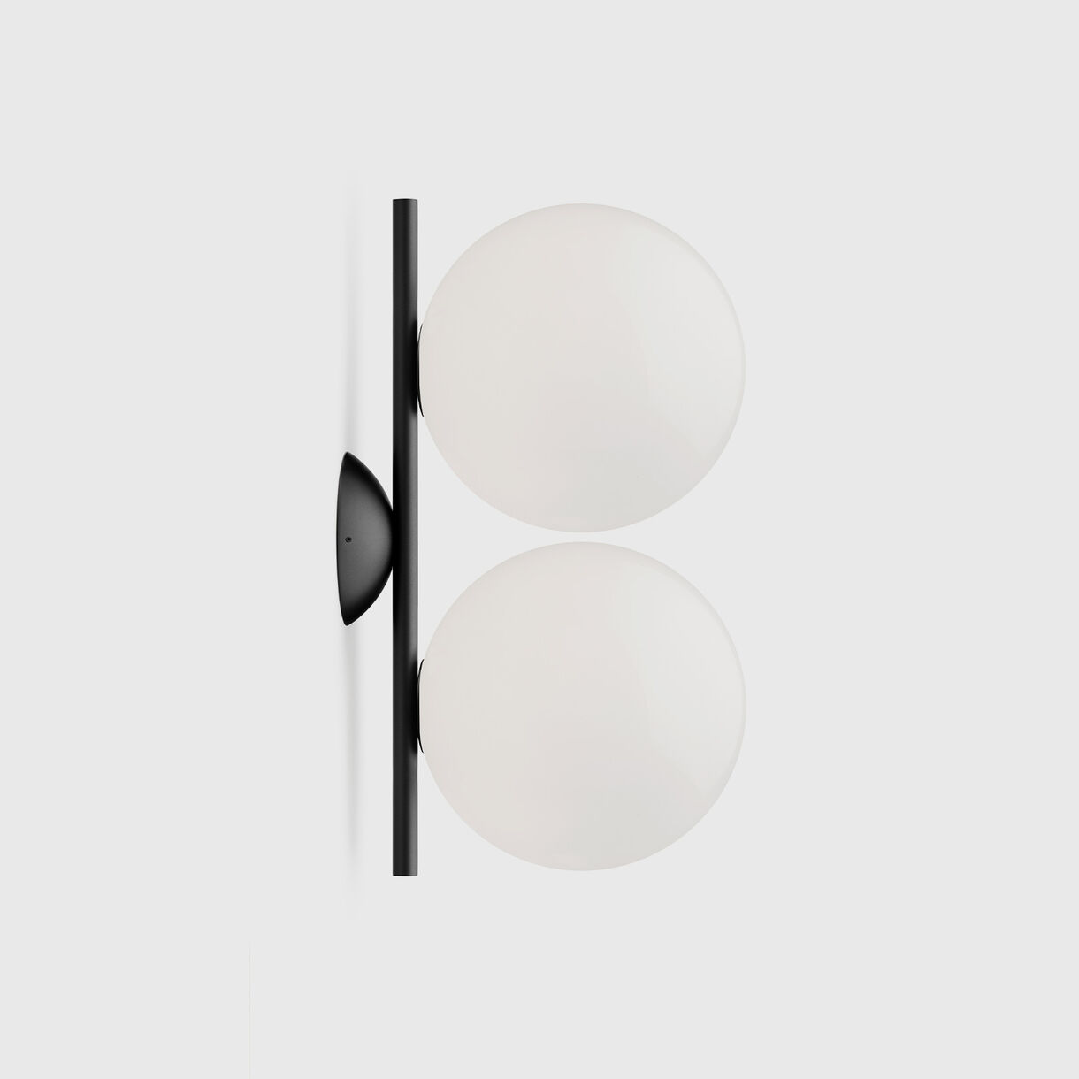 IC Ceiling & Wall Lamp, Small, Black