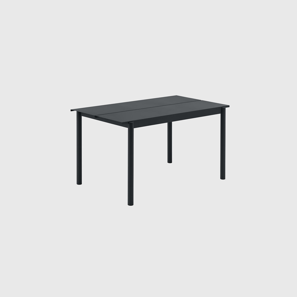 Linear Steel Table Small, Black