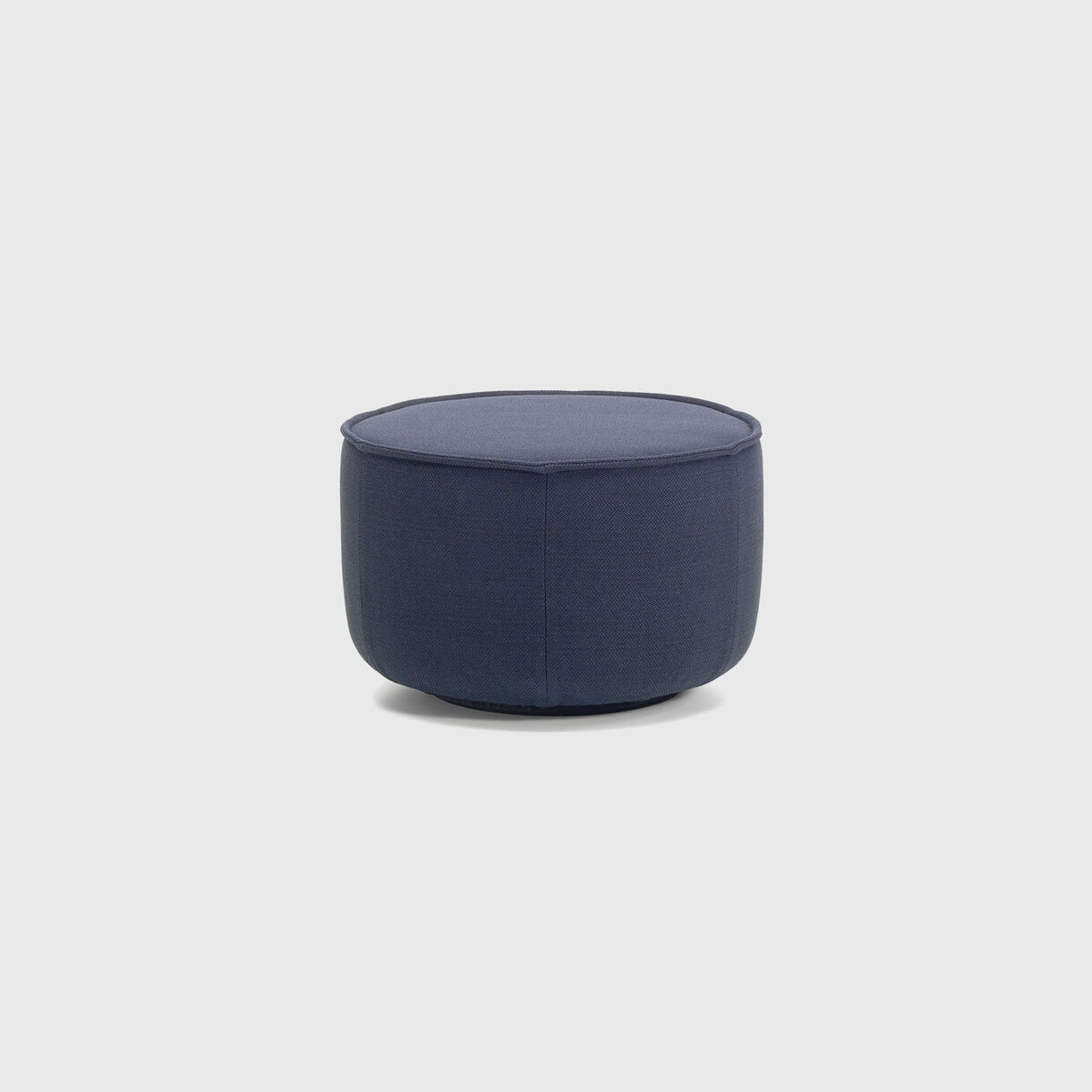 Mariposa Ottoman, Medium, Steel Blue