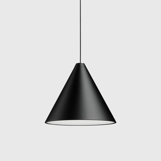 String Cone Pendant Light