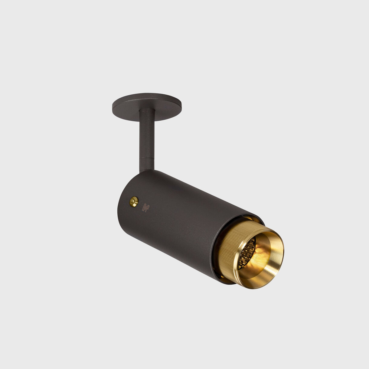 Exhaust Spotlight, Graphite & Brass
