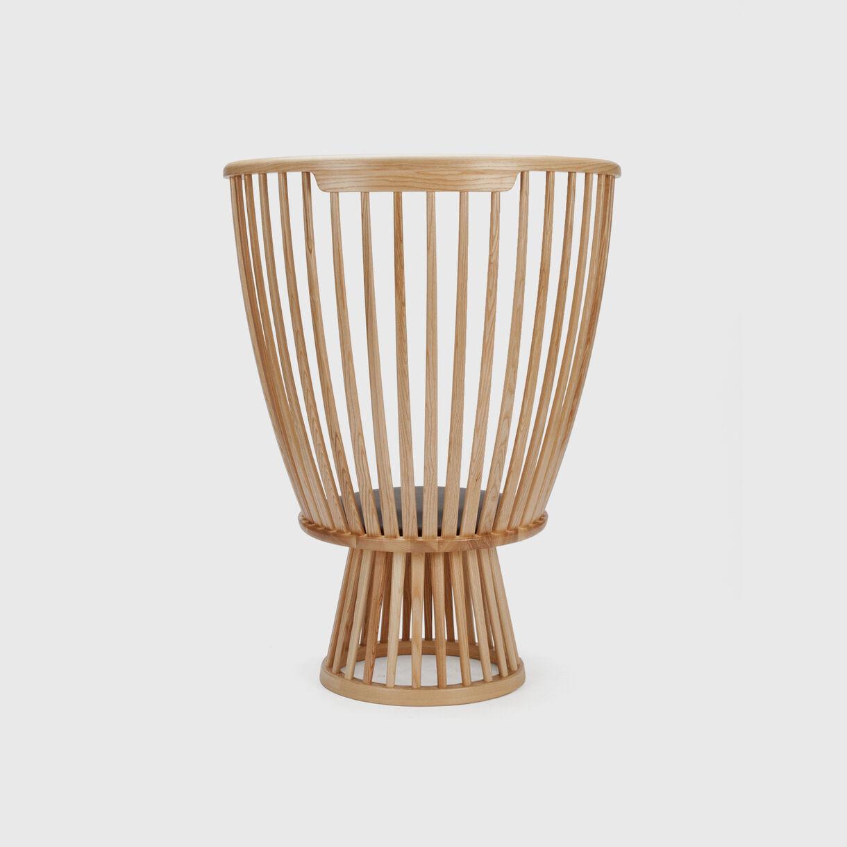 Fan Chair, Natural Oak