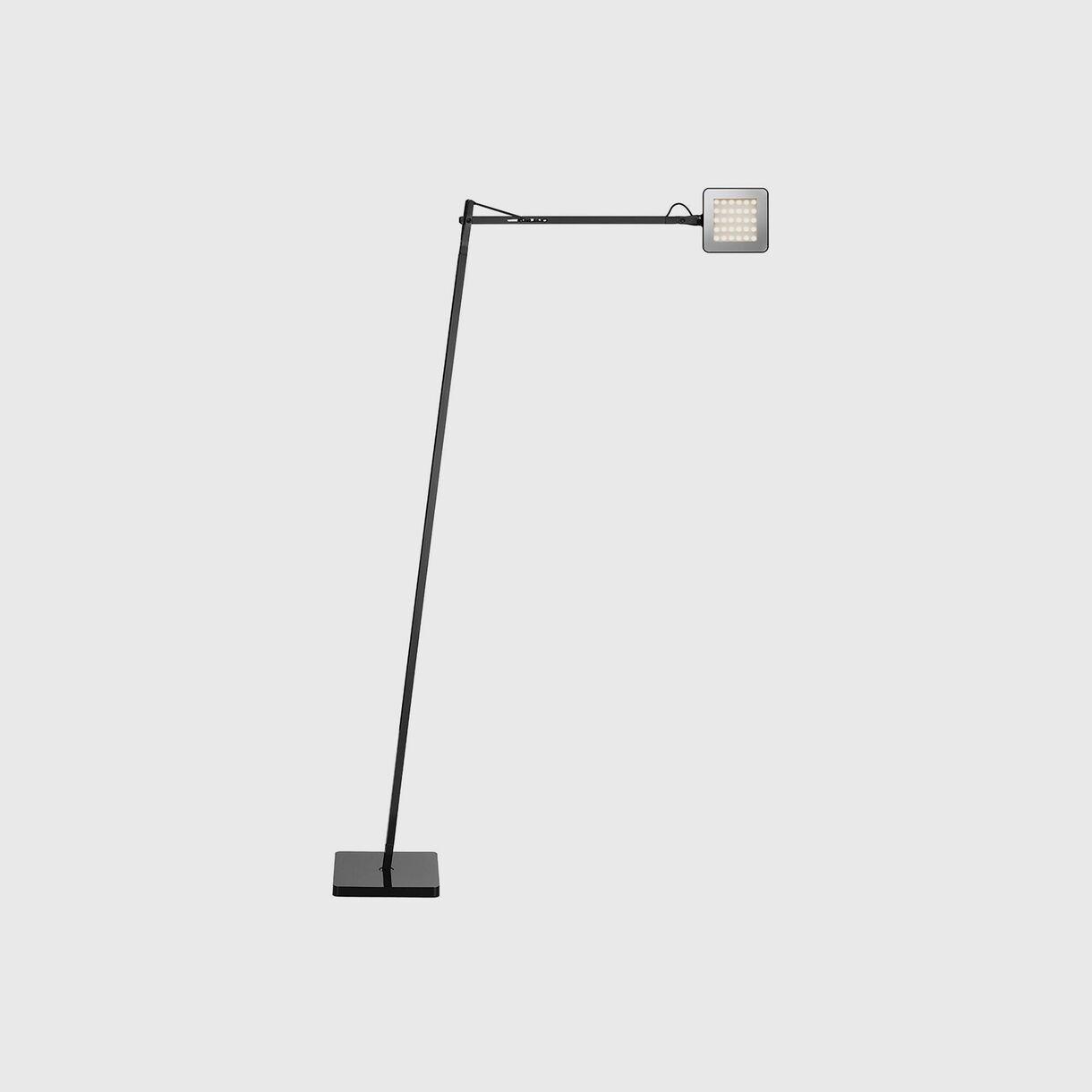 Kelvin LED Floor Lamp, Black