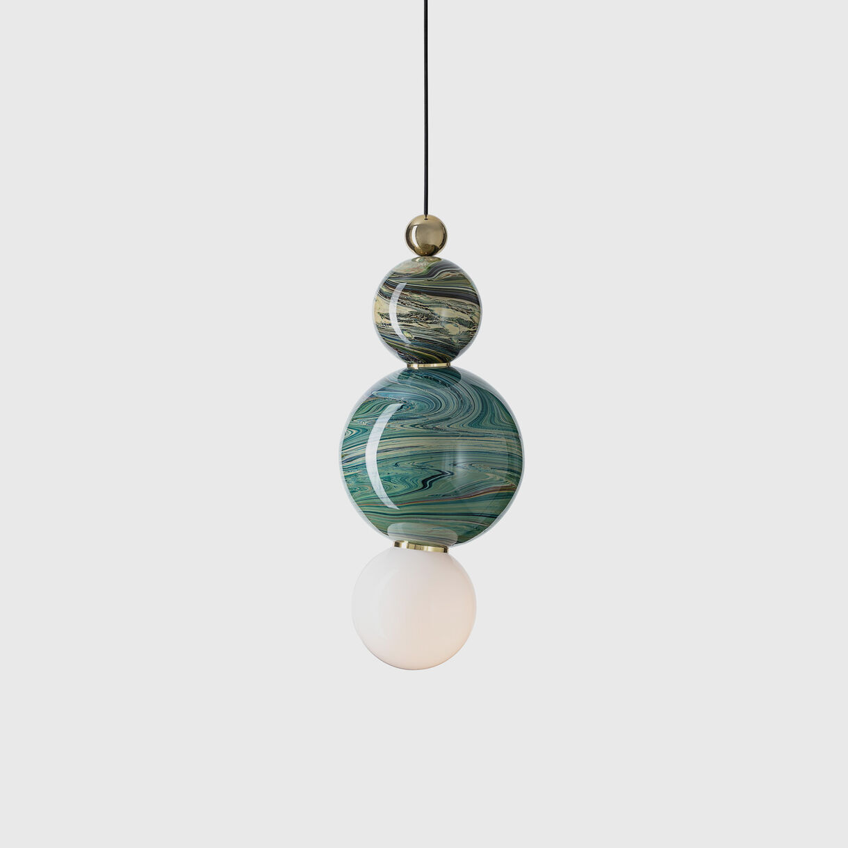 Spacey Pendant Lamp, Eclipse