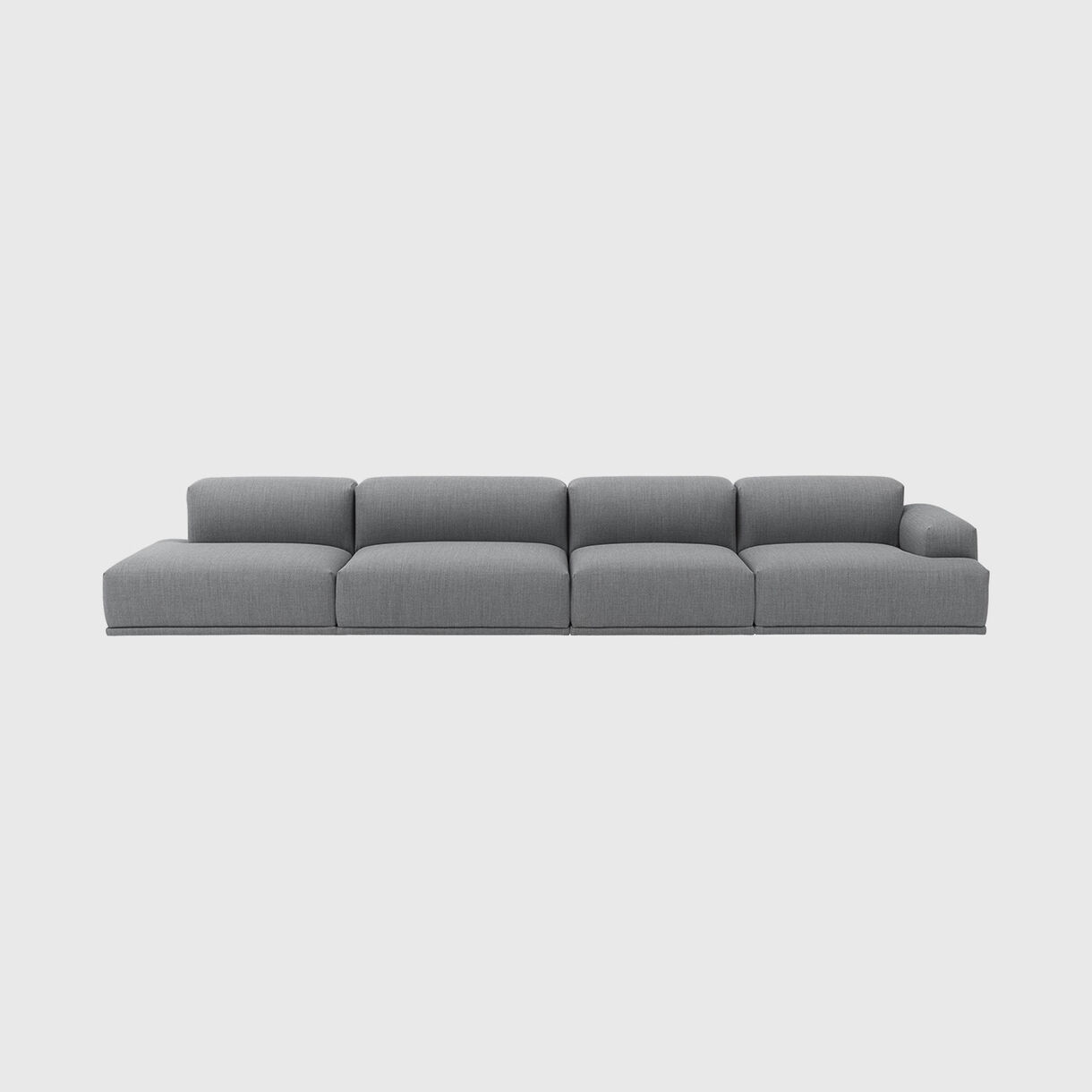 Connect Modular Sofa, 4 Seater, Fiord 151