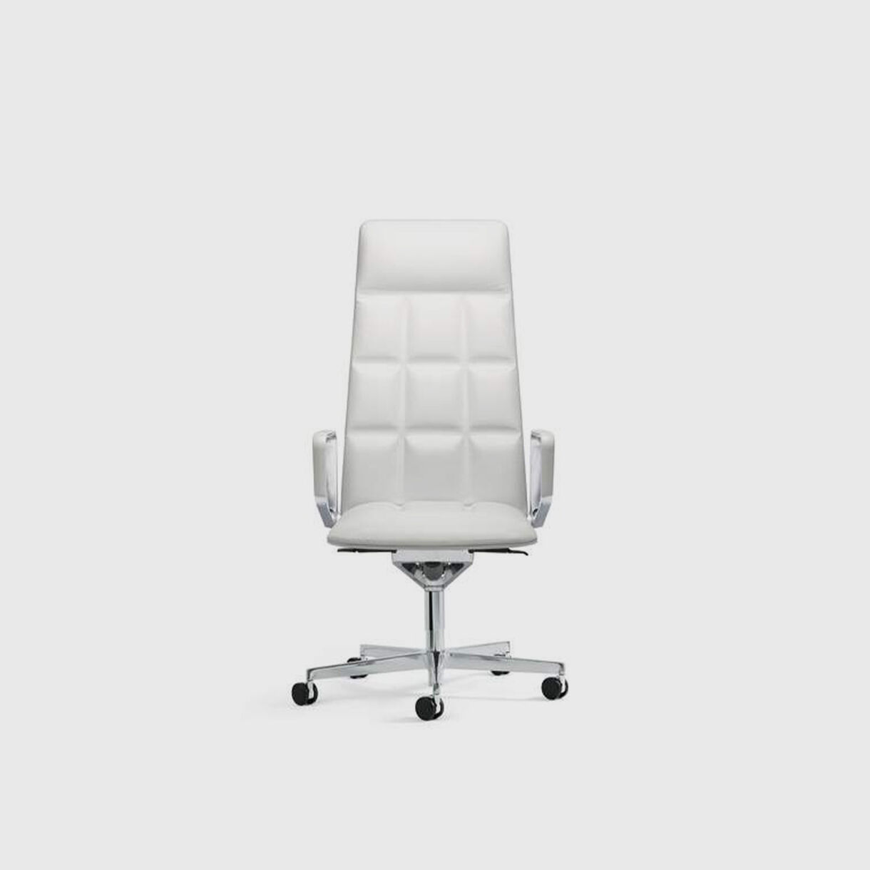 Leadchair Executive, High Back, White