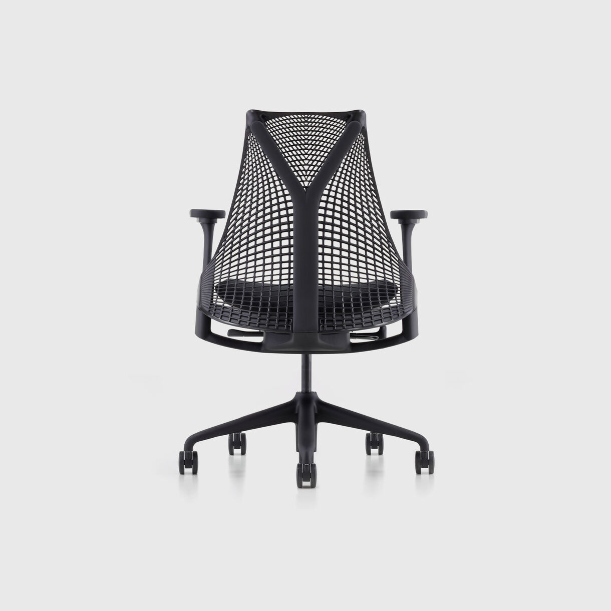 Sayl Chair, Black Base & Zen Upholstery