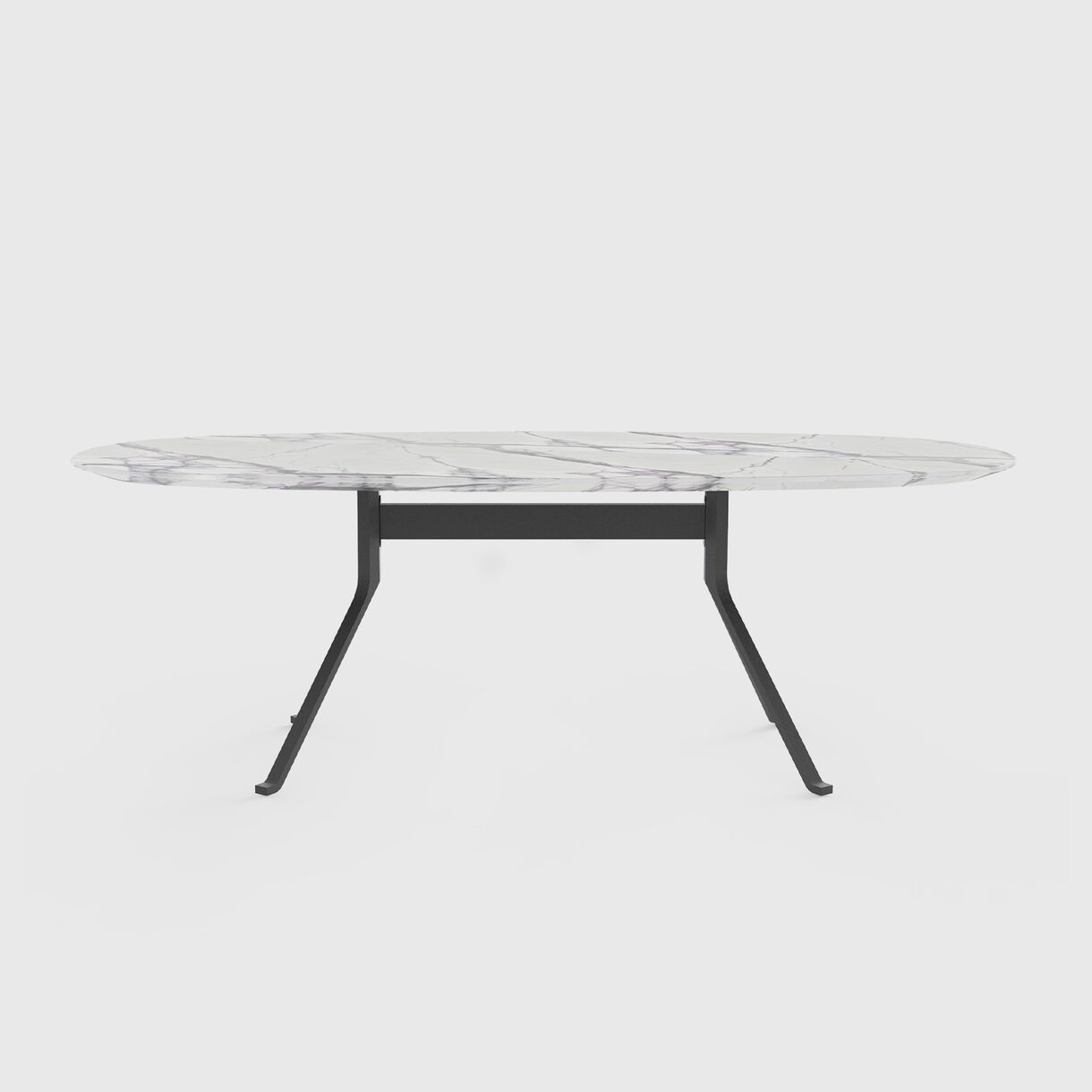 Blink Oval Dining Table Stone Top