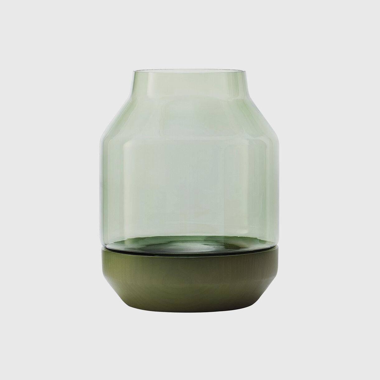 Elevated Vase, Green